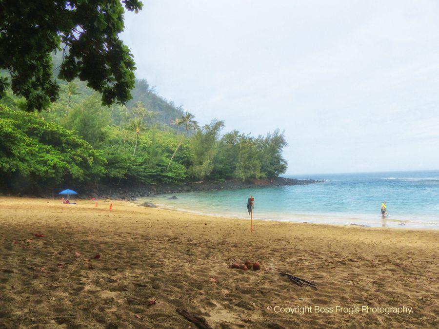Ke'e Beach Kauai Hawaii